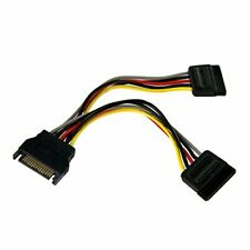 6In Sata Power Y Splitter Cable OFF-ACC NEW