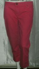 Jennifer Lopez Women's Size 14P Coral Pink Capri Jean