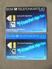 S 02 C & D 1.89 gebruikt Duitsland Hoechst 12 DM / 9831520 7 50 DM / 20100008029