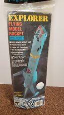 ESTES EXPLORER Flying Model Rocket NEW Vintage OOP Kit #1974 - Free Shipping