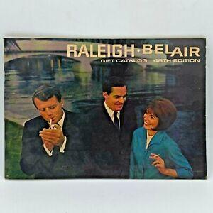 1968 Raleigh Belair Cigarettes Coupons Gift Catalog Brown & Williamson 82 pg BK2