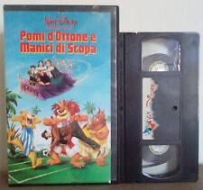 VHS FILM Cartoni Animati Walt Disney POMI D'OTTONE E MANICI DI SCOPA(VHS6)