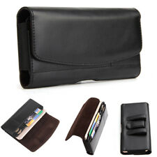 iPhone X  Waist Bag Pouch Belt Loop Holster Leather Mens Wallet Phone Case Cover