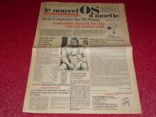 [PRESSE SATIRIQUE HUMOUR] LE NOUVEL OS A MOELLE # 1 / 4 FEVRIER 1976 Pierre DAC