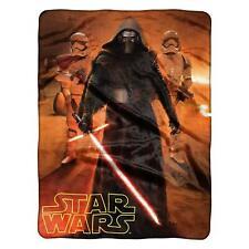 """Disney Star Wars Kylo Ren Stormtrooper Super Soft Plush Throw Blanket 46""""x60''"""