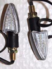 2 PCS LED Turn Signal Lights SUZUKI DR-Z400 GSX650 GSF600 650 BANDIT FITS:SUZUKI
