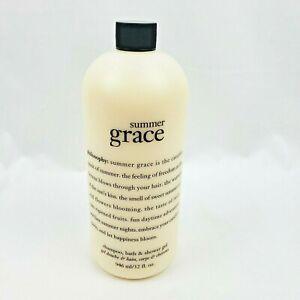 Philosophy Summer Grace Shampoo Bath & Shower Gel 32oz Sealed