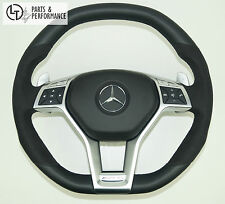 Leder Lenkrad für Mercedes-Benz 45 63 AMG W204 W212 X156 W176 R231 R172 Perf