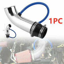 Universal 75mm Car Blue Cold Air Intake Induction Pipe Kit Filter Tube System