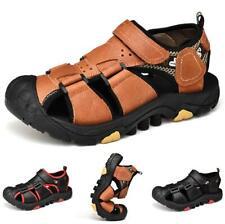 Summer Mens Beach Slingbacks Sandals Shoes Soft Flats Non-slip Outdoor Sports D