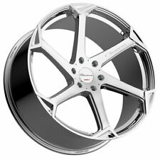 "24"" Giovanna Dalar-X Chrome 24x10 Concave Wheels Rims Fits Ford Expedition"