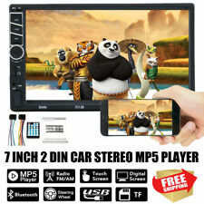 7 inch Android 7.1 Car MP5 Player Double 2DIN Touch Screen FM Radio Bluetooth WF