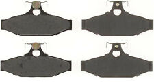 Rear Brake Pads 88-92 Chevrolet Camaro Pontiac Firebird