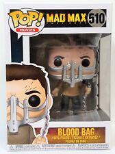 Funko Pop Max Blood Bag #510 Mad Max Fury Road Vinyl Figure Brand New