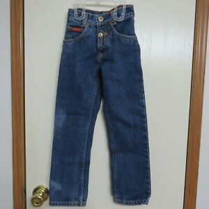 Vintage Lawman Jeans Western Rodeo Blue Denim Child's Size 5