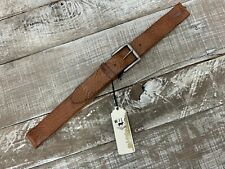 Will Leather Goods Tan Winslow Belt 36 NWT