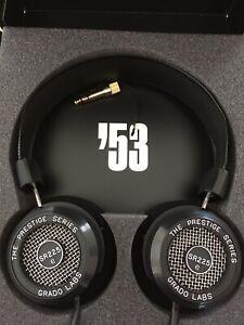 Grado SR225e The Prestige Series Headphones RRP$299 As New.