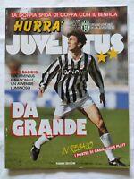 HURRA' JUVENTUS N. 4 - 1993 DINO BAGGIO NO POSTER