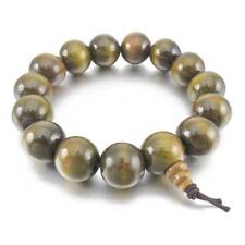 15mm Wood Link Bracelet Wrist Tibetan Buddhist Sandalwood Buddha Beads F3w9 P4w3