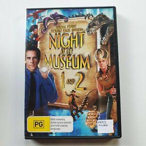 Night at the Museum 1 & 2 | DVD | Ben Stiller, Robin Williams, Owen Wilson | PAL