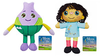 Hasbro Moon and Me 20cm Soft Toy  Mr. Onion & Pepi Nana Bundle Plush Toys New UK