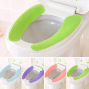 New Bathroom Toilet Seat Closestool Washable Soft Mat Cover Pad Cushion YD