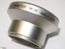 Adapter Tubus Tube für Olympus Camedia C-5000 C5000 (52mm) Filterhalter