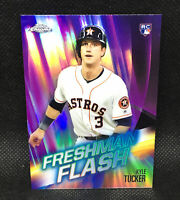 2019 Topps Chrome Kyle Tucker RC Freshman Flash Insert #1 Houston Astros Rookie