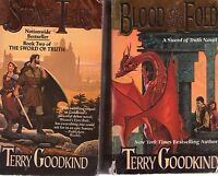 Complete Set Series - Lot of 18 Terry Goodkind Books Sword of Truth Confessor