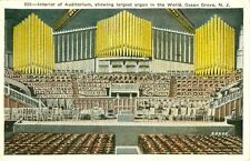 Ocean Grove,NJ. Interior of the Auditorium & the Largest Organ in the World