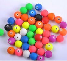 FREE SHIP 50PCS mix Fluorescent Acrylic Round Charm Spacer Beads 8mm