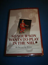 So Your Son Wants to Play in the NHL by Dan Bylsma SIGNED 1st/1st 1998 HCDJ