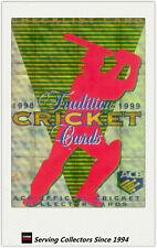 1998/99 Select Cricket Hobby Gold Parallel Trading Card No100 Checklist -Rare
