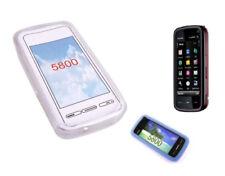 Étuis, housses et coques transparents en silicone, caoutchouc, gel pour téléphone mobile et assistant personnel (PDA) Nokia