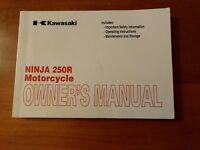 Factory OEM Owners Manual 2008 08 Kawasaki Ninja 250 EX250J9 EX250 99987-1445