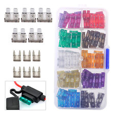 110pcs Blade Fuses Assorted Assortment Car Truck Profile 2 to 35AMP