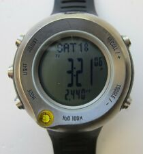 Nike Lance Armstrong WA0020 WG88-0010 Wristwatch with Altimeter - Good Condition
