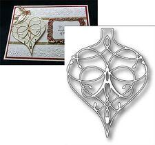 LA RUE ORNAMENT metal die - MEMORY BOX Dies 98377 Christmas Holidays swirl