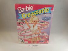 BARBIE CREASTORIE CREA STORIE PC CD-ROM BIG BOX CARTONATO ITALIANO NUOVO SEALED