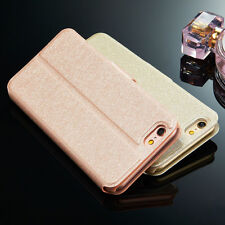 Luxury Rose Gold Magnetic PU Leather Wallet Flip Case Cover For Various Mobile