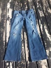 American Eagle Distress In Destroyed Women Jeans Size 10