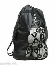 Football netball rugby 8 ball carry sack holdall sac avec free p&p