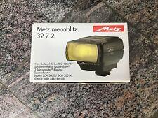 METZ 32 Z-2 TTL Blitzgerät - SCA3000 System  **NEU***