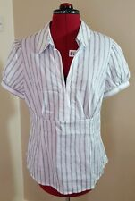 George Ladies Striped Blouse Size 18