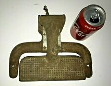 Vintage Metal Foot Pedal Operator from Antique Eastman Projection Printer