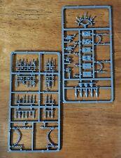Warhammer 40k Chaos Space Marine Bits:Rhino Accessories Spikey & Chains Sprues