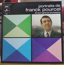 PORTRAITS DE FRANCK POURCEL BOX 3LP's FRENCH PRESS COLUMBIA
