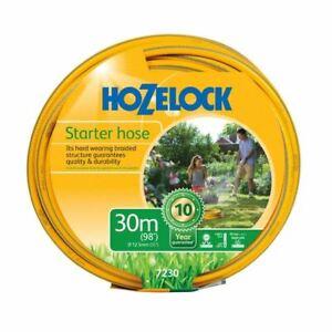 Hozelock 30m Maxi Plus Starter Hose Weatherproof Garden Hosepipe  7230