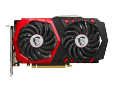 MSI GeForce GTX 1050 Ti Gaming X 4G Graphics Card, 4GB GDDR5, DVI-D, HDMI, DP