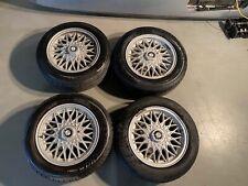 Bmw e30 baur 320i preface m20 14 inch bbs wheels with centre caps